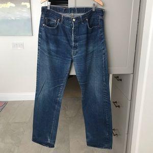 Vintage 70s Levi's 501 denim jeans #6 selvedge